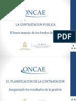Planificación de Contratación de Obra Pública