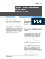 The Forrester Wave™_ Continuous Delivery And Release Automation, Q4 2018