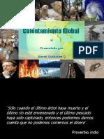 Presentacin Sobre El Calentamiento Global