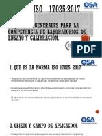 Norma ISO 17025 Umanzor