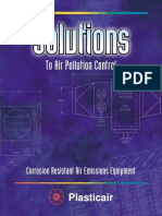 Solutions to Air Pollution Control. Corrosion Resistant Air Emissions Equipement (Ecom) [] [PlasticAir; ] {24s}