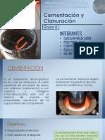 Cementación y Cianuración