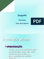 Aula Geografia Urbana