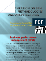 A presentation on BPM and its  Methodologies and.ppsx