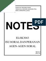 Isu Moral ELMK 3043