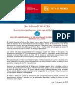 NOTA-DE-PRENSA-N°-337-INDECI-RECOMIENDA-MEDIDAS-DE-PREPARACIÓN-ANTE-DESCENSO-DE-TEMPERATURA-NOCTURNA-EN-LA-SIERRA
