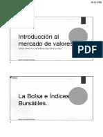 2.0 Bolsa e Indices