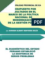 POLITICA DE MODERNIZACIÓN DE LA GESTIÓN PÚBLICA  Y PpR.pptx