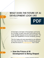 What Does The Future Of AI Development Look Like