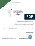 Carta Firmada recomendacion
