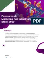 Panorama Do Marketing Nas Indstrias Brasil 2019