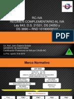 Presentacion Rc Iva 2019