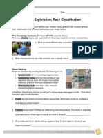 Rock Classifications e