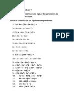 Tarae 5 de Matematica Basica