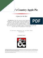 Granny's Country Apple Pie
