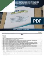 RELATÓRIO DE INDICADORES DE SUSTENTABILIDADE ECONÔMICO-FINANCEIRA DAS DISTRIBUIDORAS