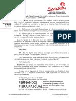 Preguntas al Pleno Ordinario 30-07-2019, Furgoneta Asuntos Propios