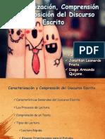 Caracterizacion y clasificacion del discurso