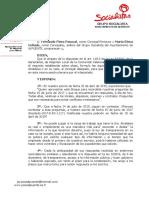 Preguntas realizadas Pleno Ordinario 30-07-2019. Alquileres,Cesiones,Etc