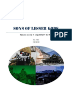 Sons of Lesser Gods (v1.0)