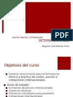 Costos, Precios y Cotizaciones Internacionales_semana 1.pptx