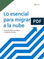 Lo Esencial Para Migrar a La Nube - MS
