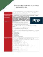 Guía de Referencia Botiquín de Primeros Auxilios de Acuerdo a La NOM 005