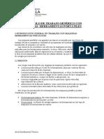 PROTOCOLO DE USO DE MAQUINAS Y HERRAMIENTAS