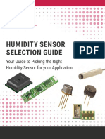 Humidity Sensor Selection