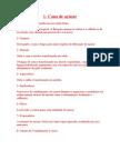 PROCESSO DE FABRICAÇÃO DE AÇÚCAR E ÁLCOOL