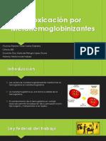 Intoxicación Por Metahemoglobinizantes
