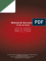 Manual Certificación de Bartender Profesional - Frutas