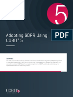 Adopting GDPR Using COBIT 5 Res Eng 0817