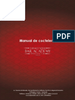Manual Certificación de Bartender Profesional - Coctelería