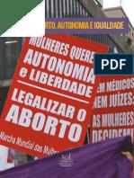 ABORTO,AUTONOMIA E IGUALDADE