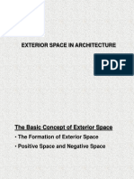 Exterior Space in Architecture