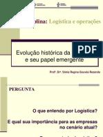 1 Evolução logistica