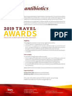 116 2019 1 [Antibiotics]Travel Awards 2019-Flyer