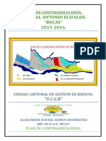 Plan de Contingencia Enos 2015-2016