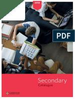 Secondary Catalogue 2018 Web
