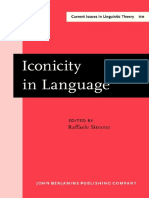 (Current Issues in Linguistic Theory 110) Raffaele Simone (Ed.) - Iconicity in Language-John Benjamins Publishing Company (1995)