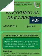 III. Nº 5.- El Enemigo Al Descubierto. Nuevo