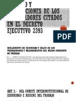 Derecho y Prohibiciones de Los Trabajadores