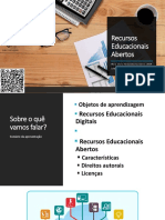 """O uso de tecnologias e recursos educacionais abertos nos cursos presenciais e a distância"" (parte 2)"