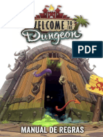 Manual de Regras - Welcome to the Dungeon