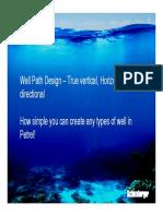 Best Practice Petrel Well Design