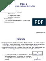 CLASE 3.1 - Herencia y Clases Abstractas