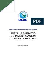 Reglamento ULAC