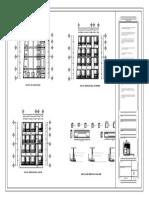 Planos de Templo Bautista Emanuel 1976 Estructural