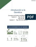 Clase 8 Genética Mendeliana y Humana